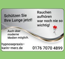 Raucherentwöhnung mit Hypnose Frankfurt